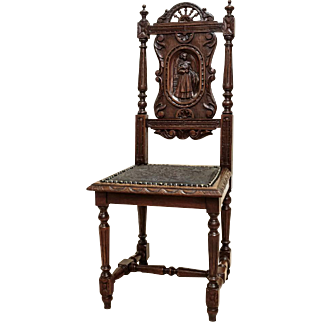 Breton Style Chairs 4 pcs. from 1880 - France
