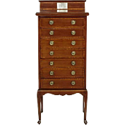 Mahogany Cabinet in Edwardian Style from 1920 from UK - with Incredible History!