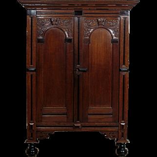Renaissance Oak Wardrobe from 18th Century - Netherlands