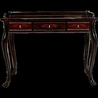 Neo-Rococo Women Desk in Rosewood ca. 1860 - Western Europe