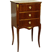 Mahogany Commode from 20th Century in Rococo Style