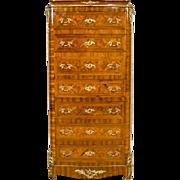 French Neorococo Dresser-Secretary Desk - 2nd half of 19th Century