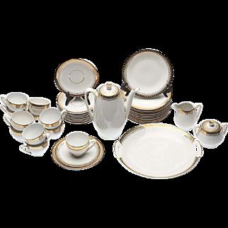 Hertel Jacob Bavaria Signed Porcelain Service - 1967 years