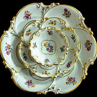 Set of 3 Plates - Ilmenau Porcelain Germany 1934-1947
