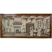 Tapestry with a Genre Scene ca. 1930
