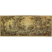 Tapestry with Hunting Scene ca 1930 - Western Europe