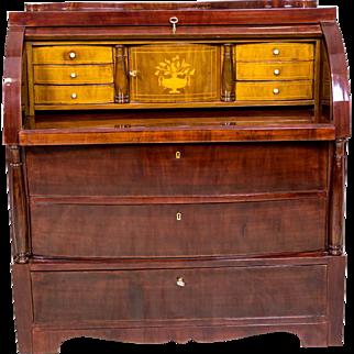 Mahogany Secretary Desk After Renovation - ca. 1930