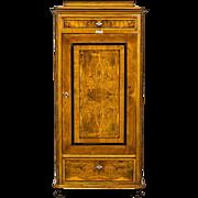 Silverware Cabinet in the Biedermeier Type -19th Century