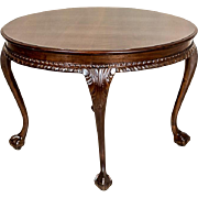 Round Coffee Table from the 1920s/1930s