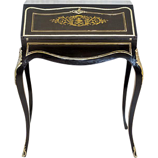Writing Desk in the Louis XV Style - late 19th Century