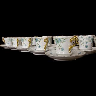 A Set of Carl Tielsch Cups