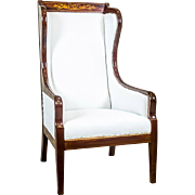 Biedermeier Wingback Armchair