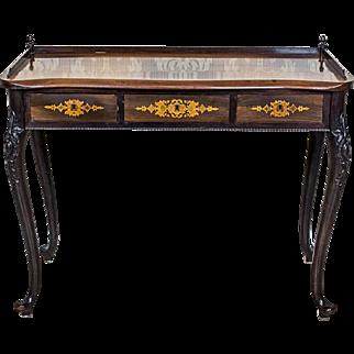 Neorococo Rosewood Ladies Desk, Circa 1880/90