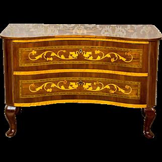 Intarsiated, Prewar Dresser