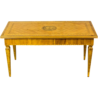 Intarsiated Coffee Table -- 1930