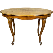 Oval Table in the Neo-Rococo Style -- The 19th Century