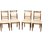 Set of Eclectic Chairs -- 1880/90