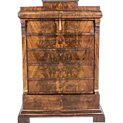 Antique Biedermeier Secretary Desk/Chiffonier