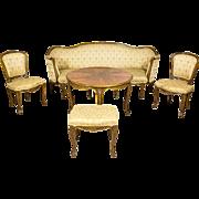 Neo-Rococo Living Room Suite -- Circa 1950/60