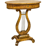 Sewing Table in the Biedermeier Style