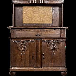 Art Nouveau Cupboard Sideboard