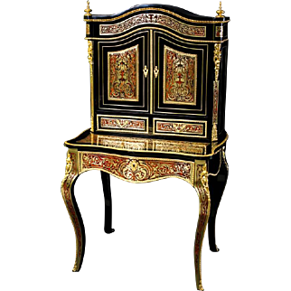 French Boulle Cabinet from 1840.
