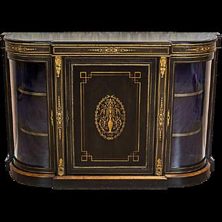 Dresser/Cabinet in the Napoleon III Style -- Circa 1850