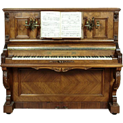 Original Piano  L. Burgasser & Co Paris - 1860 years