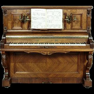Original Piano  L. Burgasser & Co Paris - 1860 years