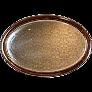 Big, Oval Mirror, Circa 1920