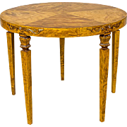 Round Coffee Table, Circa 1930