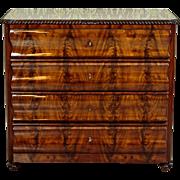 Exceptional Dresser/Writing desk ca. 1880 - Mahogany Wood