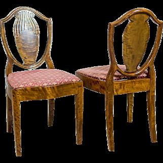 Two Chairs Signed Nordiska Kampaniet 1909