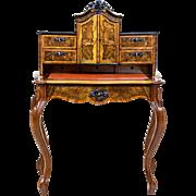 Beautiful Writing Desk After Renovation - ca. 1860