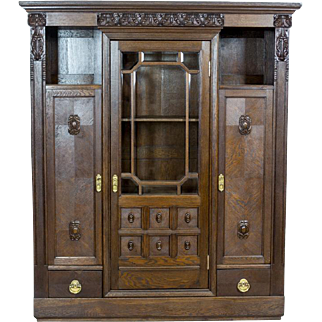 Bookcase from the Interwar Period