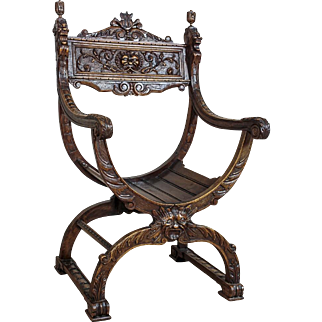 Dante's Chair/Gondola Chair from the 19th Century