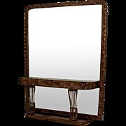Vanity Table with a Mirror -- Circa 1900