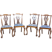 English Chairs in the Chippendale Type