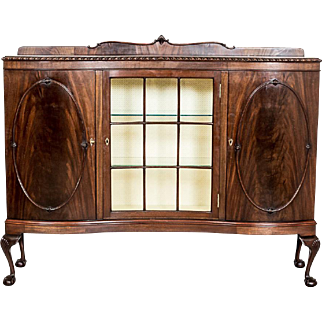 Three-Door Commode in the Chippendale Style -- the 19th Century