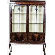 Antique, English Showcase from the 19th Century