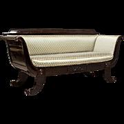 Classic Biedermeier Sofa -- Circa 1860