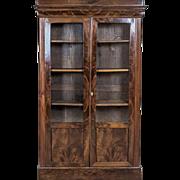 Biedermeier Bookcase, Circa 1850