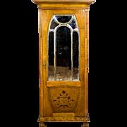 Art Nouveau Linen Cabinet -- Circa 1900/1910