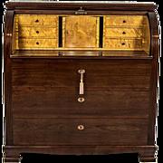 Secretary Desk in the Biedermeier Type -- Circa 1950