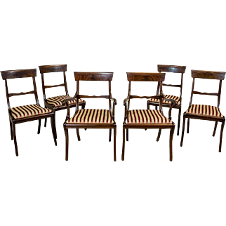 A Set of Chairs Stylized as Biedermeier