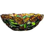 Artistic Bowl of Stained Glass