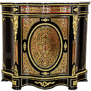 Neo-Baroque Commode in the Boulle Type