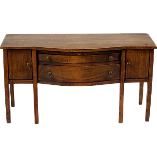 Dollhouse Sideboard Buffet Table Miniature Dining Room Furniture