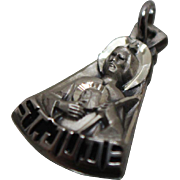 925 - Creed Studio St. Jude Dangle Drop Pendant Charm in sterling Silver - Red Tag Sale Item
