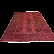 $8,500 Antique Handmade Authentic Caucasian Rug - 110 years - 330 x 225 cm - 10.8 x 7.3 ft